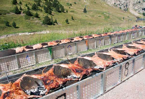 Fiesta del Ternasco de Aragón - Cerler