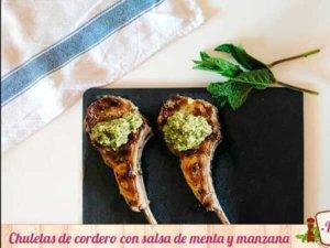 chuletas-cordero-salsa-menta