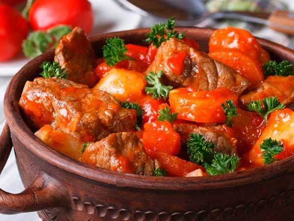 cordero en salsa