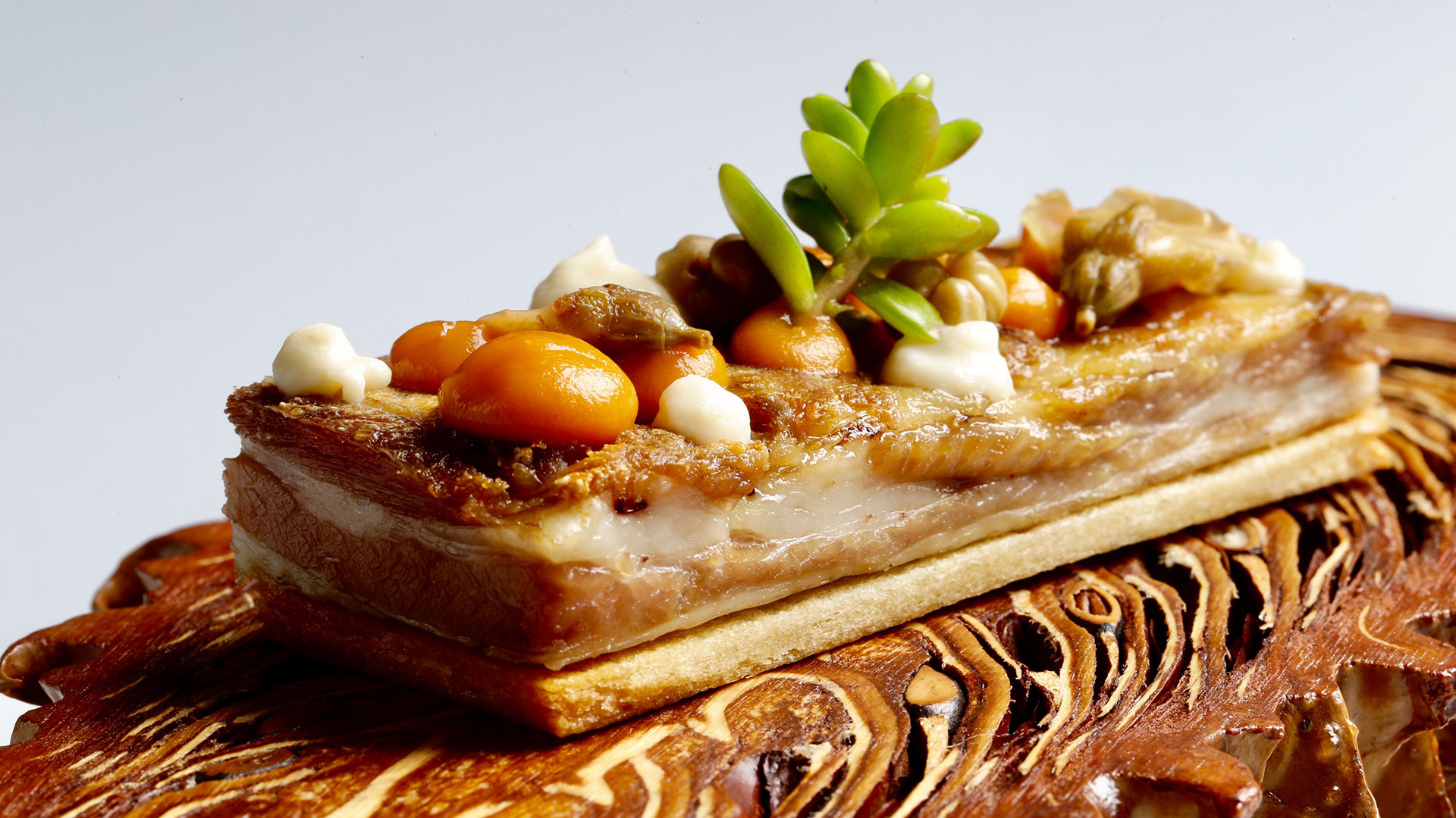 Receta de lingote de churrasco de cordero con escabechados