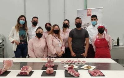 Gastronomía y Carnicería se dan la mano en las jornadas de formación del ovino y caprino para carniceros profesionales